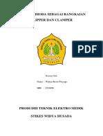 APLIKASI DIODA SEBAGAI RANGKAIAN CLIPPER DAN CLAMPER.docx