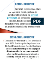 Burnout sindrom