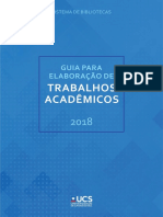 Guia para elaboração de trabalhos acadêmicos