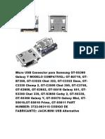 todos tipos de conectores da samsung.pdf