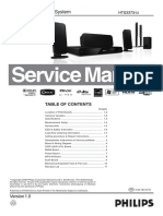 Philips HTS 3373 Service Manual (1)