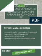 Masalah Pembuangan Bayi Di Malaysia