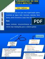 NBR ISO 14001- INTRODUÇÃO AOS ASPECTOS E IMPACTOS