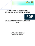 Plan de Silvicultura Urbano de Cartagena 2017
