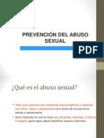 Prevención Abuso Sexual
