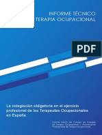 Informe Tecnico Sobre Terapia Ocupacional