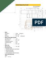 Perhitungan Pelat Atap