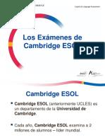 Cambridge ESOL-1 (14-15)