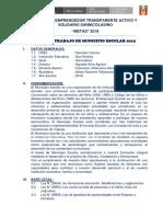 Plan de Trabajo de Municipio Escolar 2018