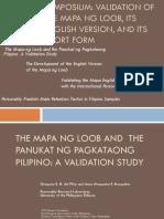 PPP and Mapa Ng Loob
