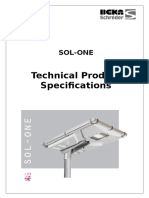 SOL ONE Specification