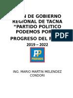 Plan de Gobierno Regional Partido Podemos Final Final