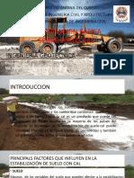 estabilizacion de suelos con cal