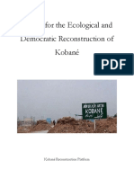 Report for the Ecological and Democratic Reconstruction of Kobané