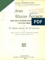 Nuestras Razas Decaen - Miguel Jiménez López. 1920. T-34.