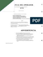 Grove Manual Operador Rt-760 Castellano
