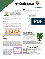 first grade news 8 10
