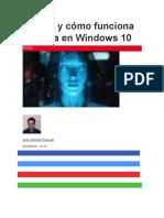 Qué Es y Cómo Funciona Cortana en Windows 10
