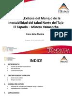 PERUMIN 31_Gestión Exitosa del Manejo de la Inestabilidad del Talud Norte del Tajo EL Tapado – MYSRL.pdf