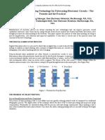 Dow Company Electronics PCB Printing