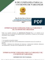 Intervalo de Confianza Para La Varianza y Razón de Varianza (2)