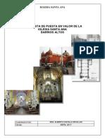 Plan de Trabajo-iglesia Sta Ana