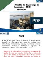 01 Apresentacao SGSI 25ª Reunião COGEF1