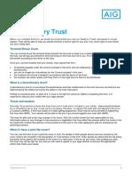 Discretionary Trust Form