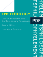 BonJour, L. (2010). Epistemology. Classic Problems and Contemporary Responses. Rowman & Littlefield Publishers.pdf