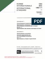 IEC 146-1-1 Ammend 1 1996