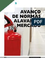 MAtéria técnica sobre extintores de incêndio