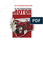 Manual de Motor Mack Mp8
