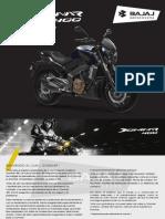 Dominar 400 Manual Final