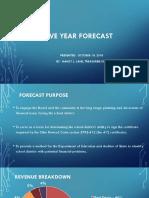 Fairfield Schools 5-Year Forecast