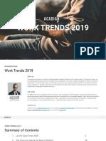 Work Trends 2019