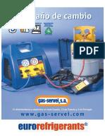 Catálogo gases refrigerantes