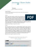 Des Institutions en Personne. Une Sociologie Pragmatique en Dialogue Avec Paul Ricoeur (2012) - Laurent Thévenot