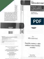 9.Mukarovsky Función.norma.y.valor.estético