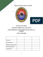 Rsitencia de Materiales Inform 1