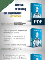 ZyncTech. El robot más avanzado para hacer trading de criptodivisas