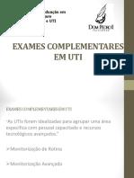 Exames Complementares Em Uti e Emergência
