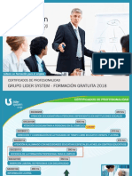 20171215 Lider System Certificados Gratuitos 2018