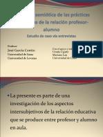 Semiotica Profesor Alumno 2010 Coloquio