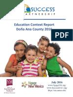 Dona Ana Context Report 2016