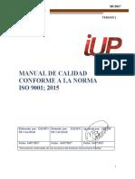 Lc-di-01 Diagnóstico Inicial – Lista de Chequeo Requisitos Ntc 9001-2015