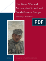 (Balkan Studies Library 17) Oto Luthar-The Great War and Memory in Central and South-eastern Europe-Brill Academic Publishers (2016)