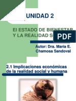Nota Del Profesor 1. Unidad 2 _ El Estado de Bienestar y La Realidad Social