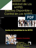Gestión de Contabilidad de Las MYPES