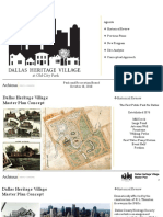 Dallas Heritage Village Master Plan