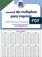 02 Matematicas Tablas de Multiplicar Para Imprimir